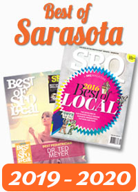 Best of Sarasota 2 years in a row!